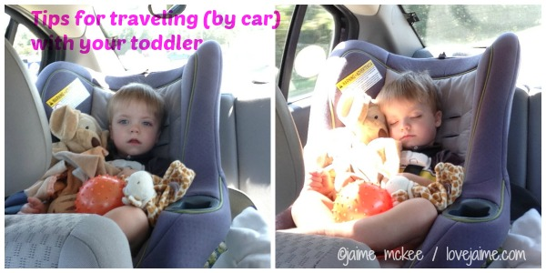 Traveling with toddlers – the road trip edition