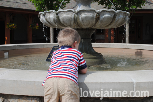 playtime at Antler Hill Village on Biltmore Estate