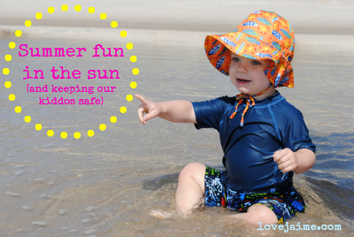 Playing it safe in the sun (review + giveaway)