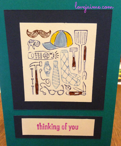 Completed project: Father's Day cards #12months12projects