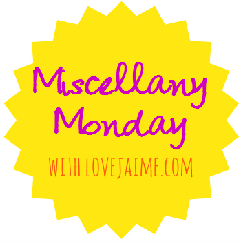 miscellany Monday – back from vacation