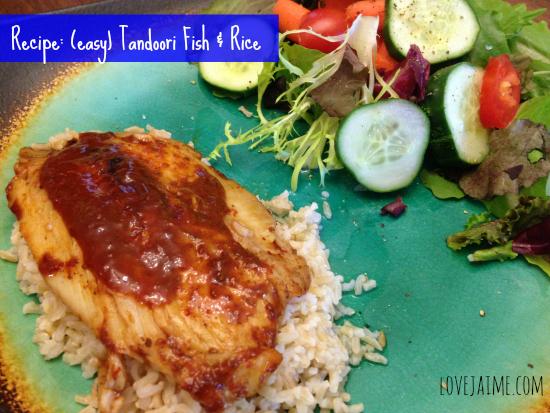 {Review} WORLDFOODS sauces and a Tandoori Fish recipe #MomsMeet
