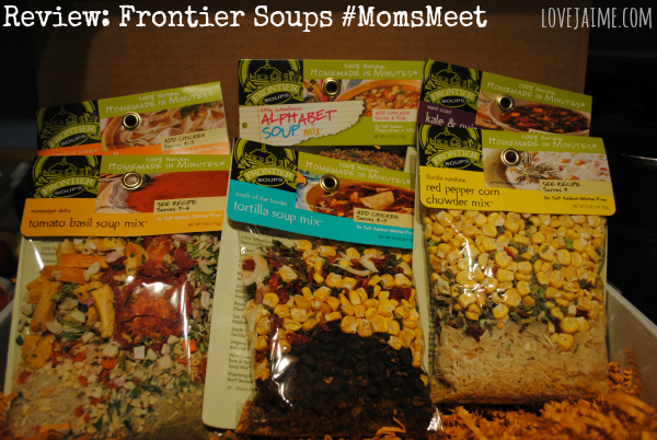 Quick, easy and healthy options from Frontier Soups #MomsMeet @FrontierSoups