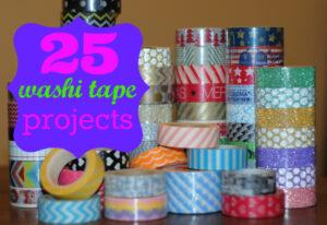 25 uses for washi tape #crafty #washi #diy