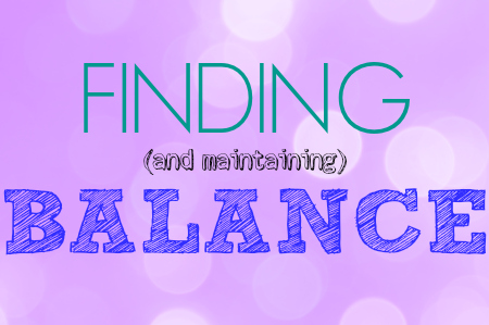 Three Things Thursday: Balance