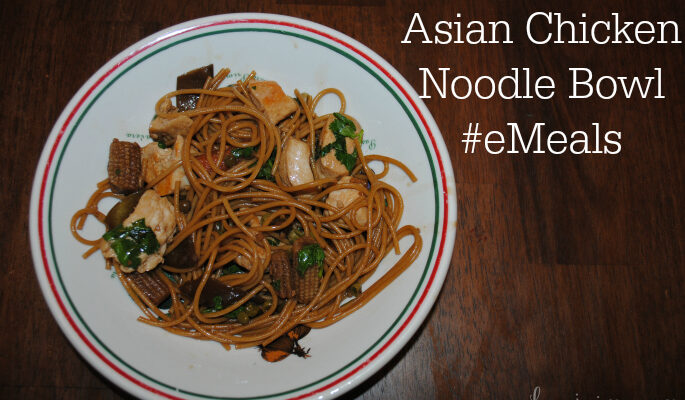 Asian Chicken Noodle Bowl #recipe #eMeals