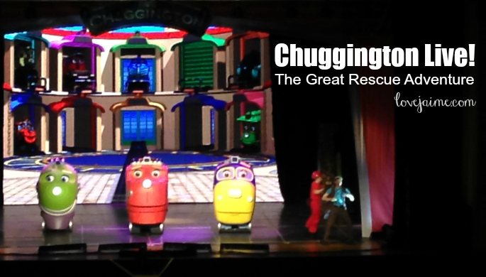 Chuggington Live! (in photos!) #ChuggingtonLive @USCellularCTR