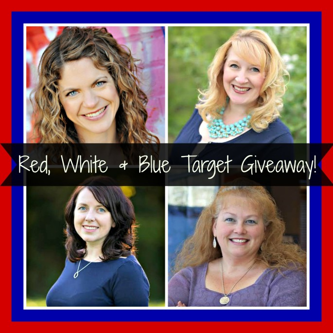 Red, White & Blue $100 Target gift card giveaway! #FourthofJuly #giveaway