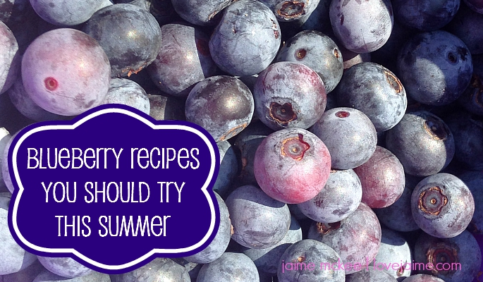 8 blueberry recipes you should try this summer #blueberries #recipes