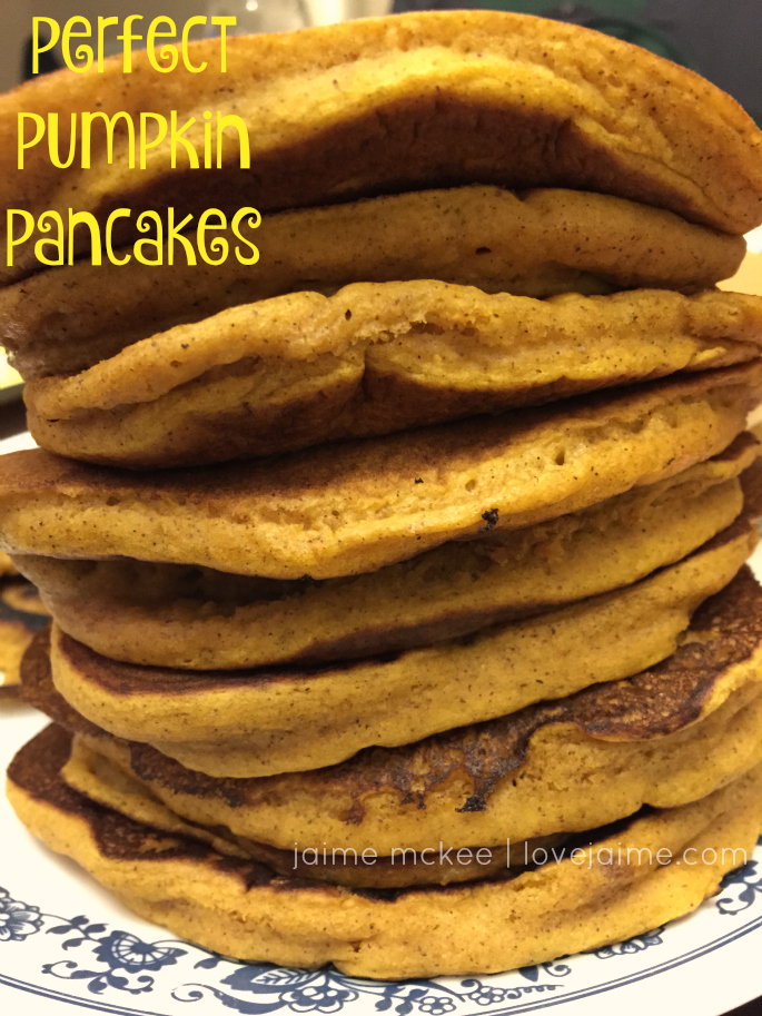 Meal Planning with Pumpkin pancakes (even my preschooler likes them!) #wfd #recipe