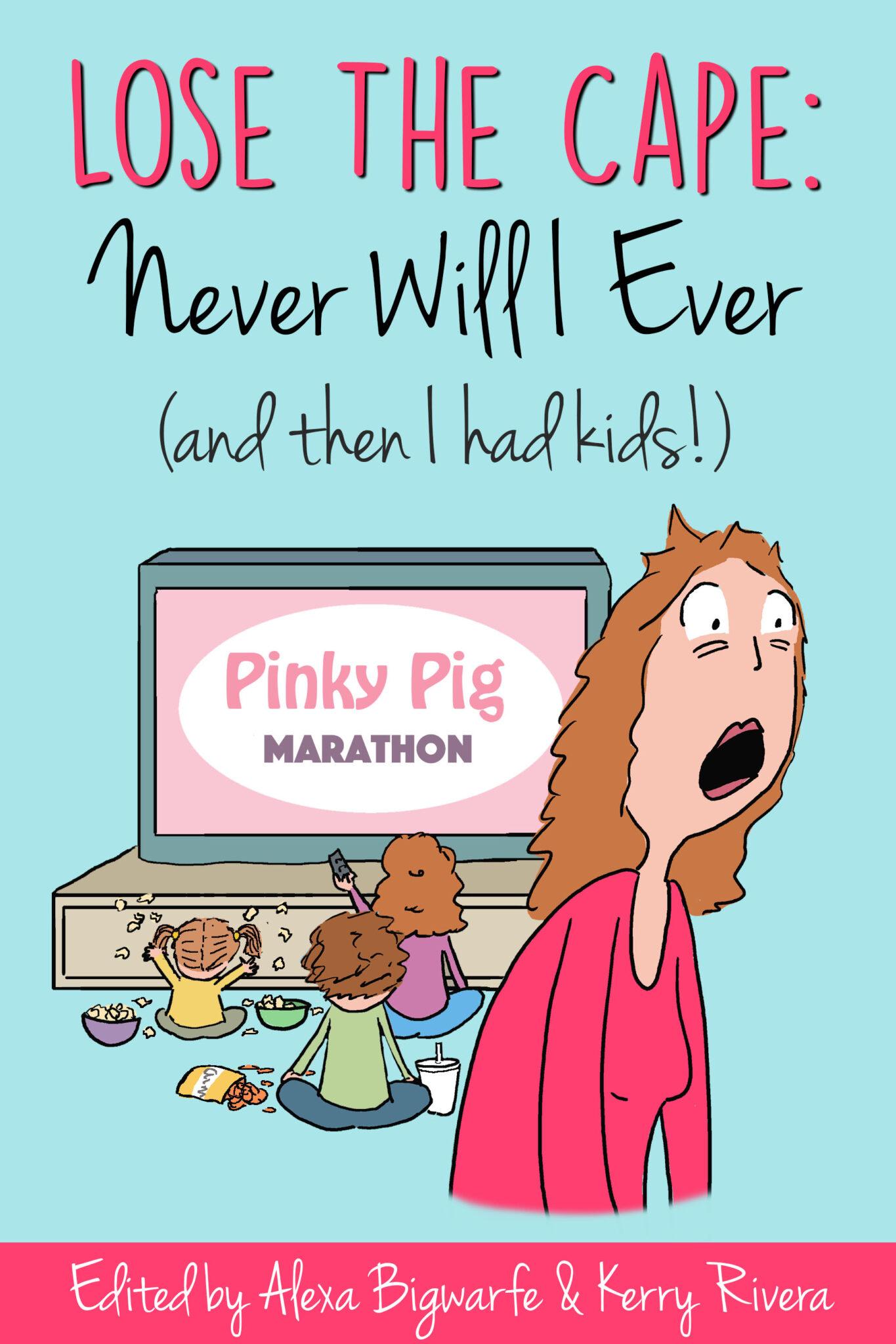 Never Will I Ever….a book review #LoseTheCape