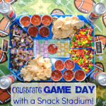Get ready for the Big Game with a fun snack stadium #GameDayGlory #ad