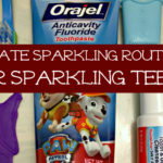 Sparkling teeth, sparkling routines – all summer long #Smilehood #ad