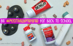 Staying healthy as we head back to school  #PositivelyPrepared #BacktoSchool