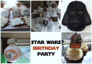 Turning 5 with a Star Wars Party