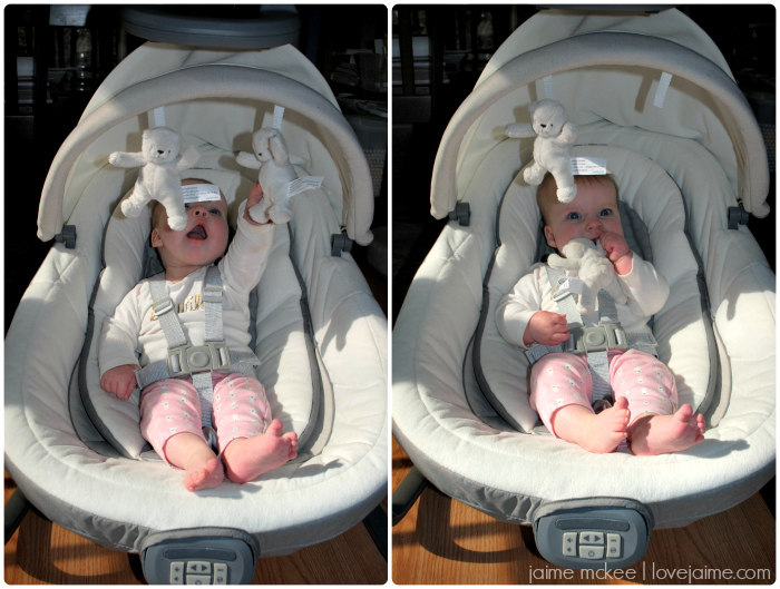 Graco Floor Swing: Falling Back Into Routines With Graco #extendTheTrip