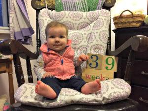 39 weeks {Baby update}