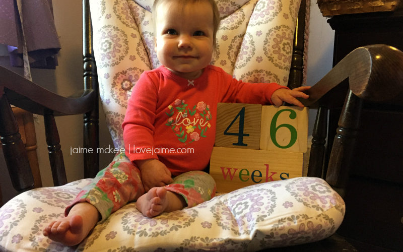 46 weeks {baby update}