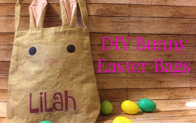 DIY Bunny Easter bags