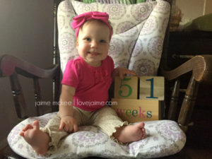 51 weeks {baby update}