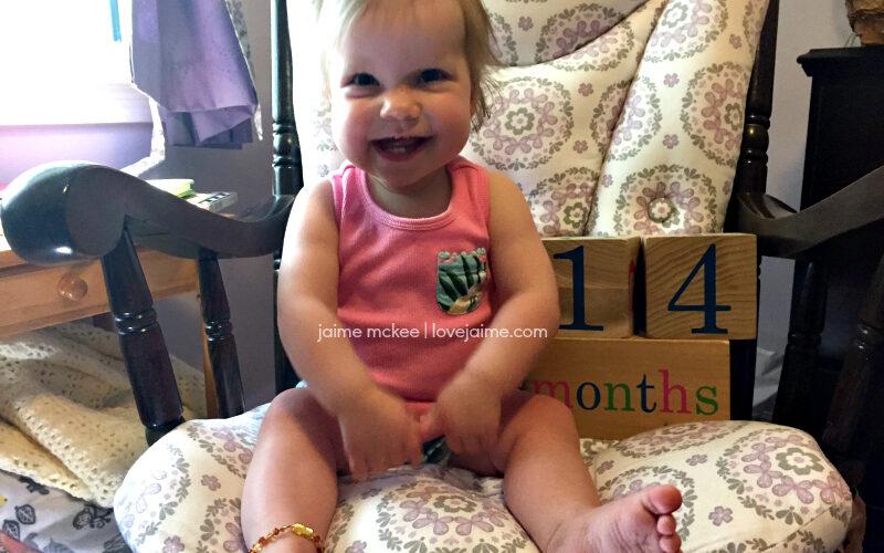 14 months {baby update}