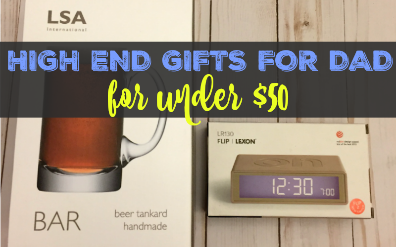 5 high-end gifts under $50 from Amara for dad!
