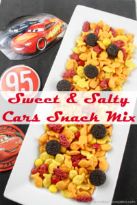 Cars 3 Snack Mix! Perfect for parties or play dates