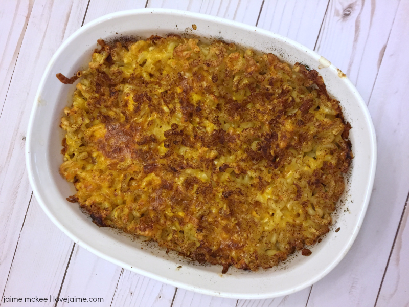 Recipe: Crunchy Macaroni & Cheese  #ScrubDots #ad
