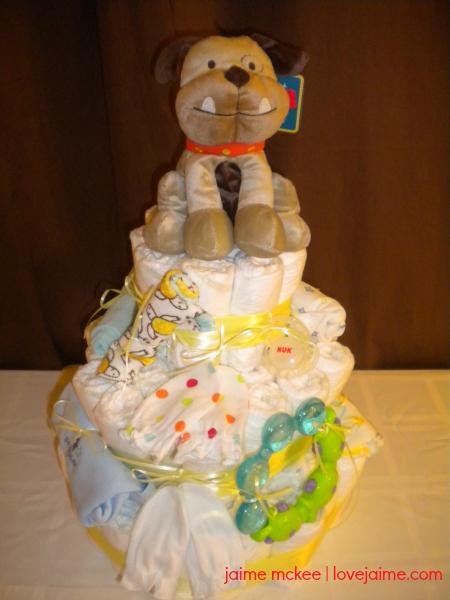 puppy-diaper-cake-1