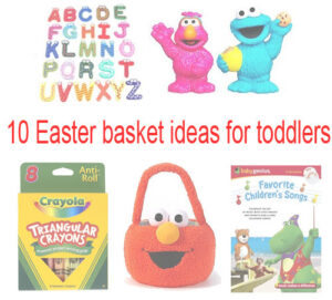 10 ideas for Easter baskets for toddlers