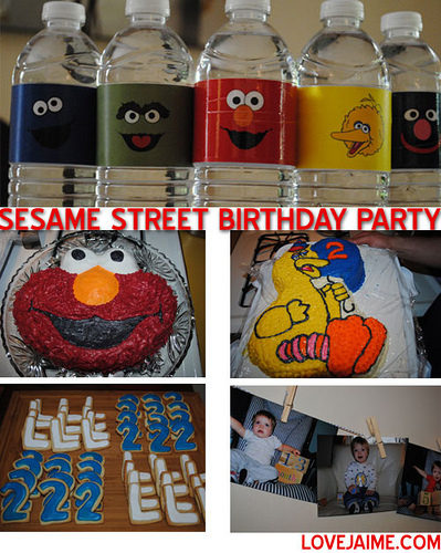 Sesame Street 2nd birthday party!