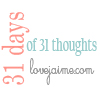 #31Days – 31 days of blogging