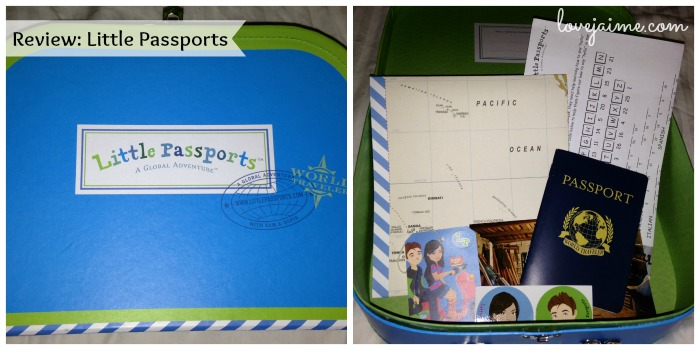 Giving the gift of Little Passports (and a review)