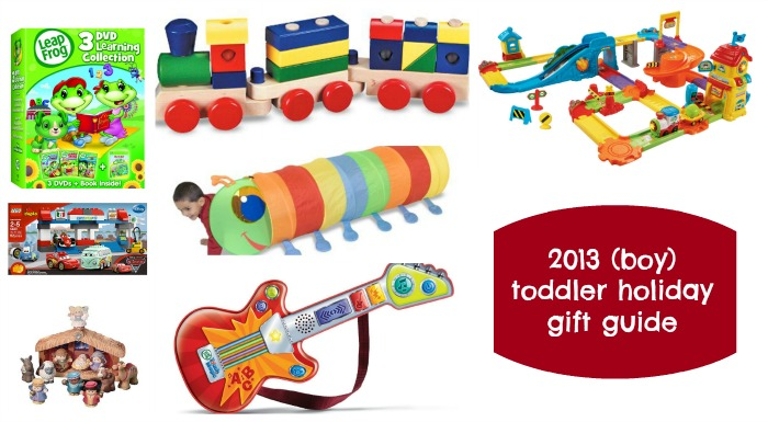 2013 toddler holiday gift guide