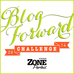 Fitness resolutions for 2014 & ZonePerfect Blog Forward Challenge