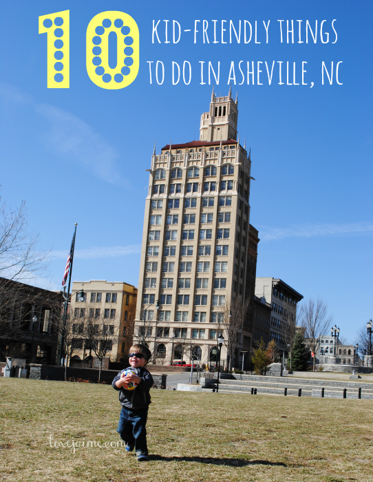 10 kid-friendly things to do in Asheville, NC. #Asheville #kids #avlfun