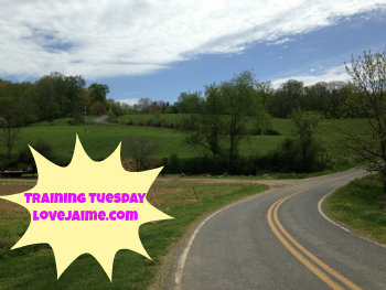 training Tuesday – pollen infused workouts #mileadayMay