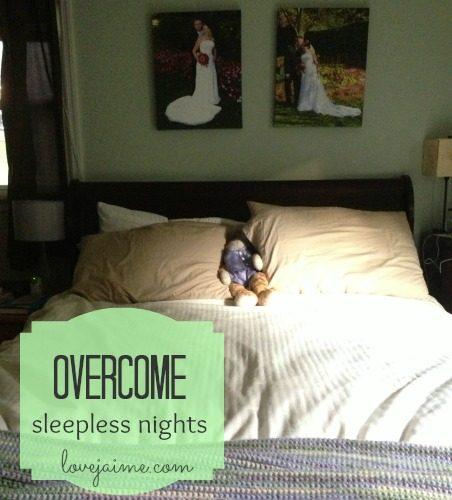 Battling sleepless nights