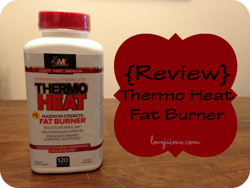 Review: Thermo Heat Fat Burner supplement #sponsored #ThermoHeat #FitFluential