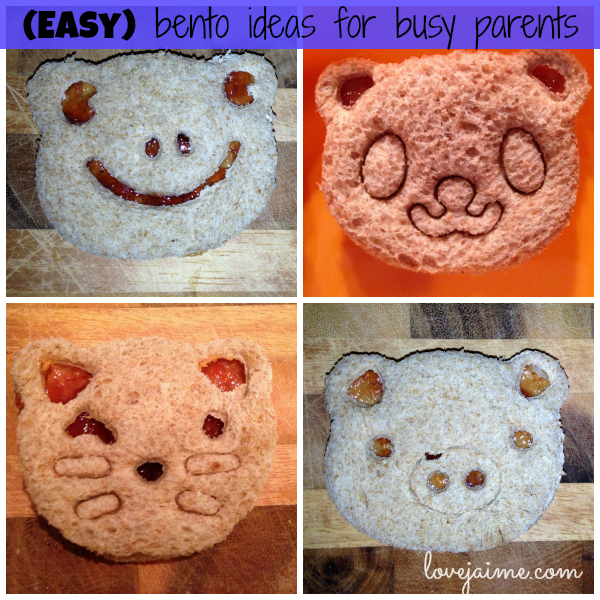 Easy bento meals for toddlers. #bento #cutefood #kids