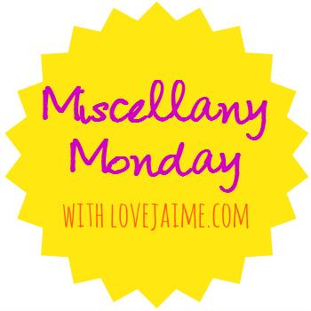 miscellany Monday – back from vacation