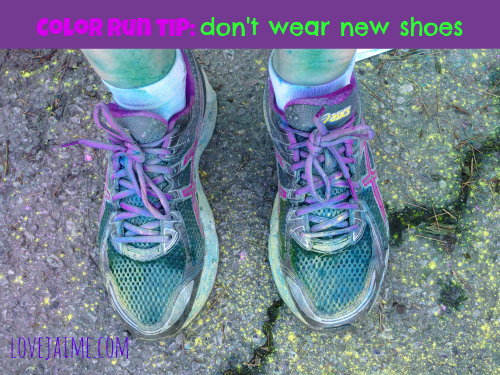 Tips For Running A Color Run Happiest5k Love Jaime