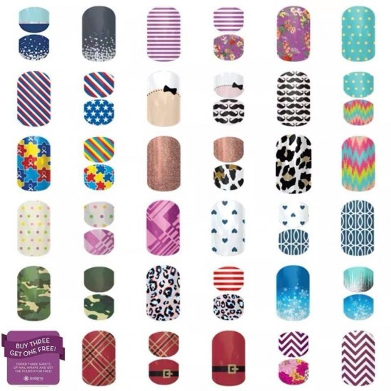 Jamberry vs. Julep challenge (and a giveaway!)