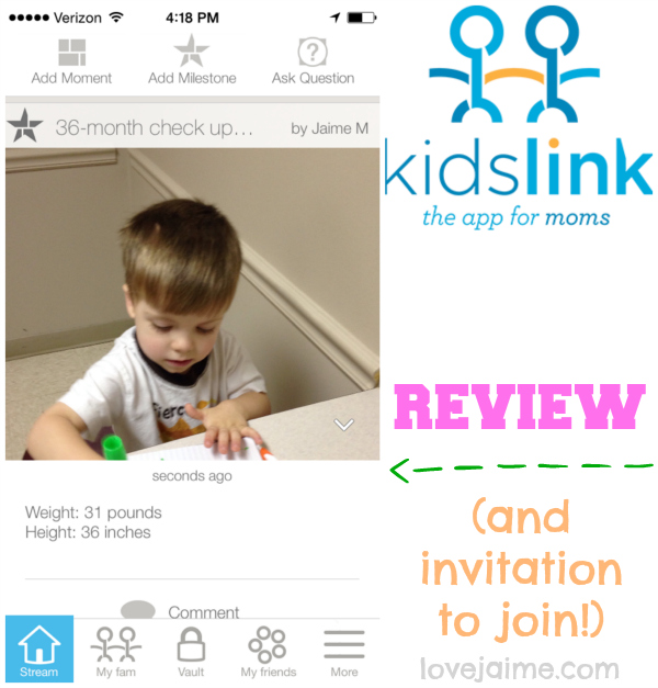 Keep your child's info handy (and safe!) with KidsLink app! @KidsLinkApp