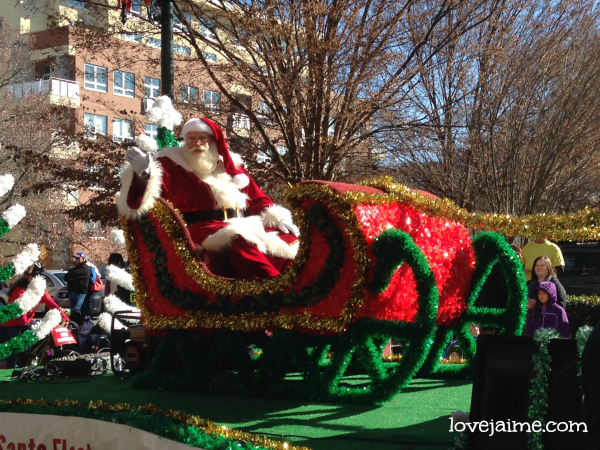 A look at the Asheville Holiday Parade #avlparade