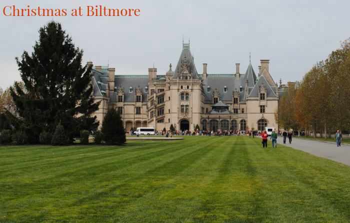 Christmas at Biltmore…it's here! #BiltmoreTreeRaising