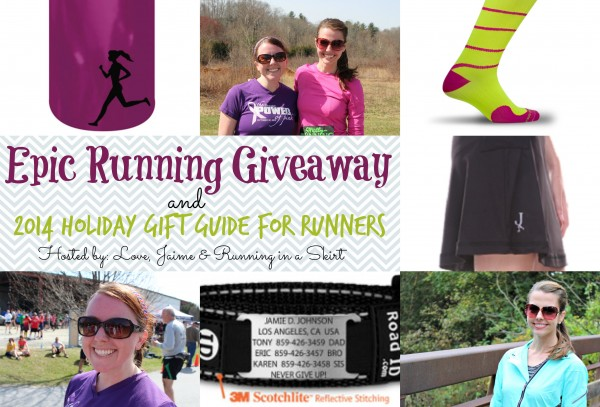A runner's gift guide…with an epic giveaway!