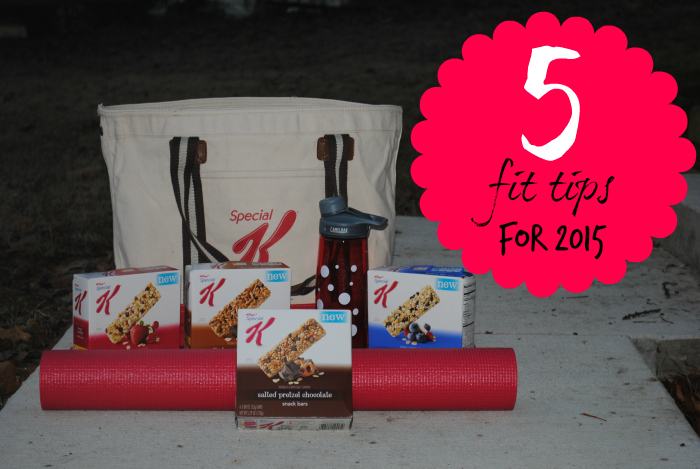 5 Fit Tips for 2015 (and introducing #SpecialKSnackBars) #Fitfluential #spon