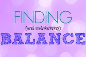 Three Things Thursday: Balance