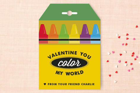 Minted Valentine's Day classroom cards - the perfect Valentine's for your child's friends!